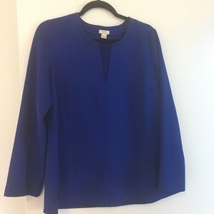 Long sleeve blouse from J Crew
